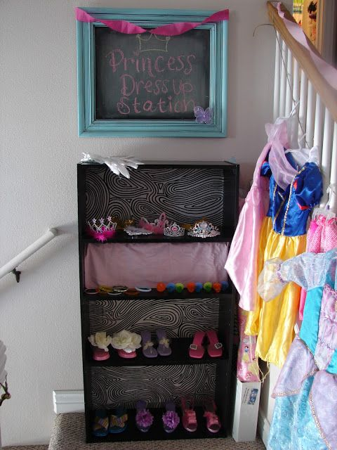 Princess party- dress up station | Sevia\'s Princess Party ...