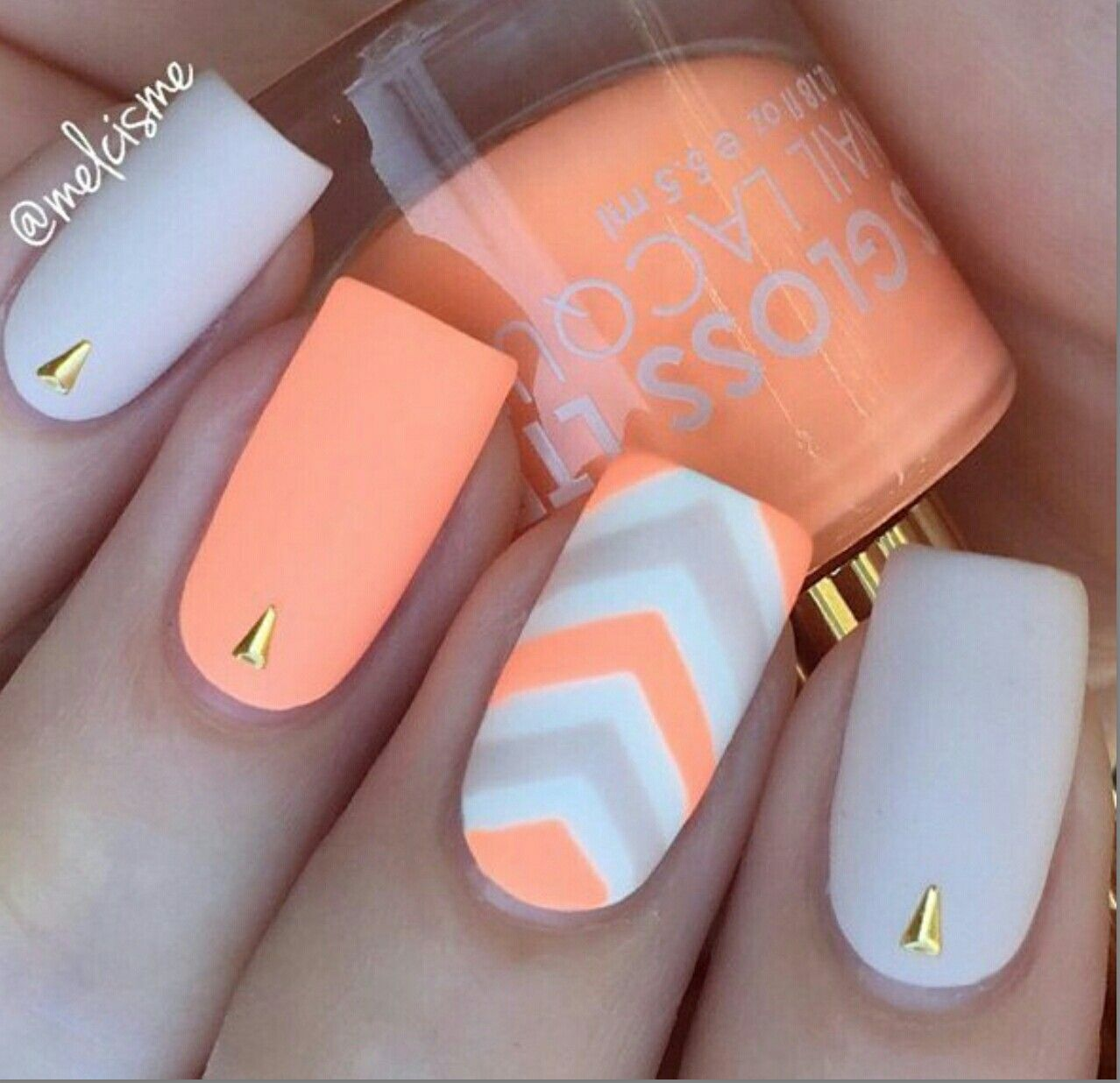 Pin by Courteney Greer on orange~peach nail polish | Pinterest ...