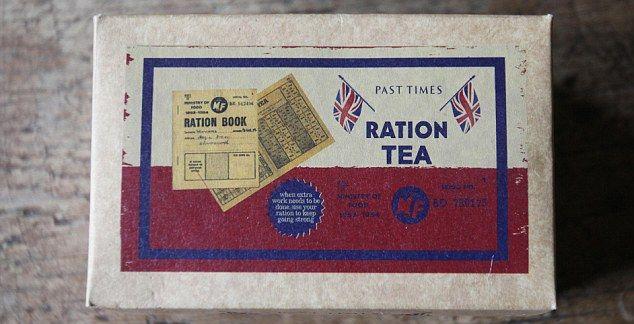 Cuppa cheer: Wartime ration tea #vintagelover #vintagestyle #vintagefashion #vintagehome #vintageliving #vintagelife