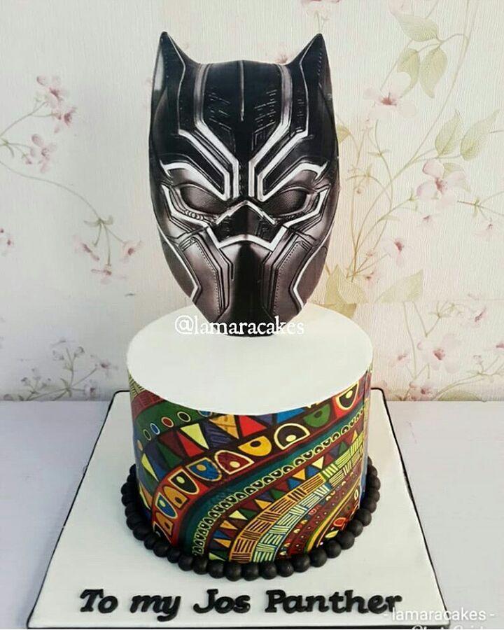 Black Panther Cake Design @lamaracakes #Cakebakeoffng # ...