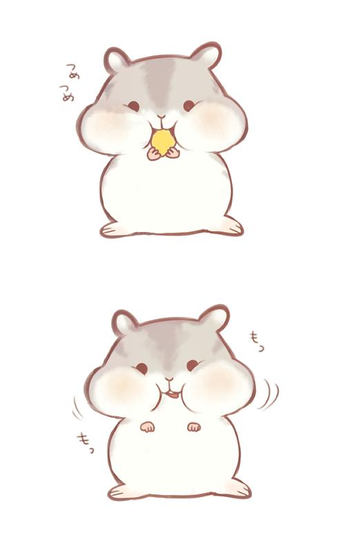 hamster Cute cartoon drawings, Kawaii drawings, Cute