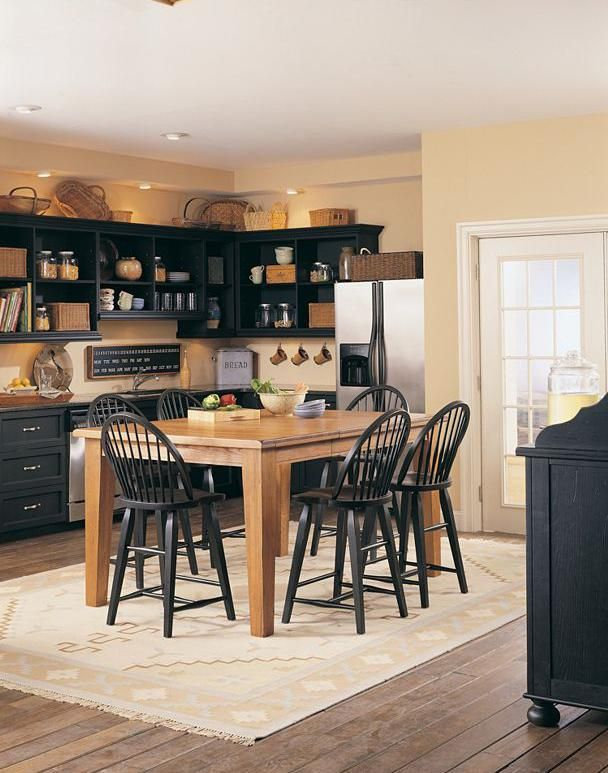 Natural Black Attic Heirlooms By Broyhill Furniture Dining Table In Kitchen Heirloom Dining Table Broyhill Furniture