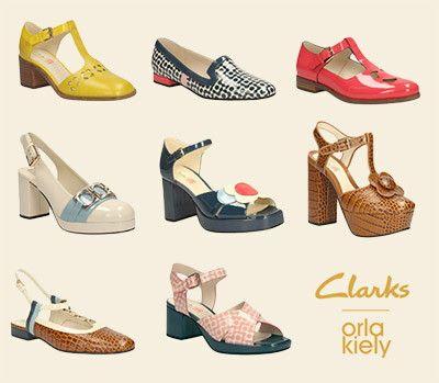c680dcd7bb5e i am loving the orla kiely clarks collaboration.