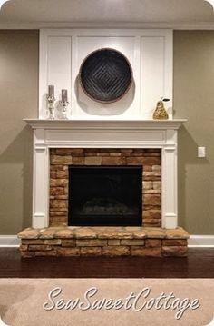 Diy board and batten fireplace remodel under 65 dollars for an diy board and batten fireplace remodel under 65 dollars for an easy transformation teraionfo