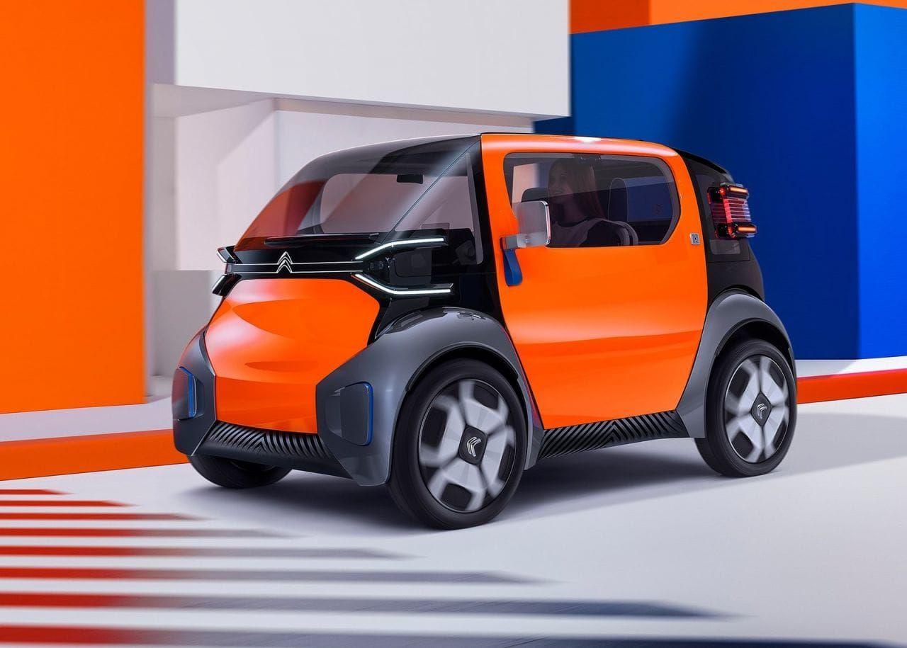 Ami One Concept La Propuesta Eléctrica De Citroën Para Las Ciudades Vehiculo Electrico Auto Electrico Estacion De Servicio