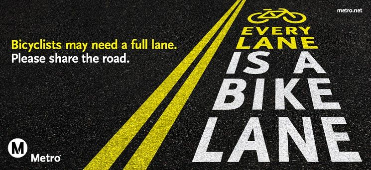 Wait, Is It Not OK to Bike in the Middle of L.A. Bus Lanes