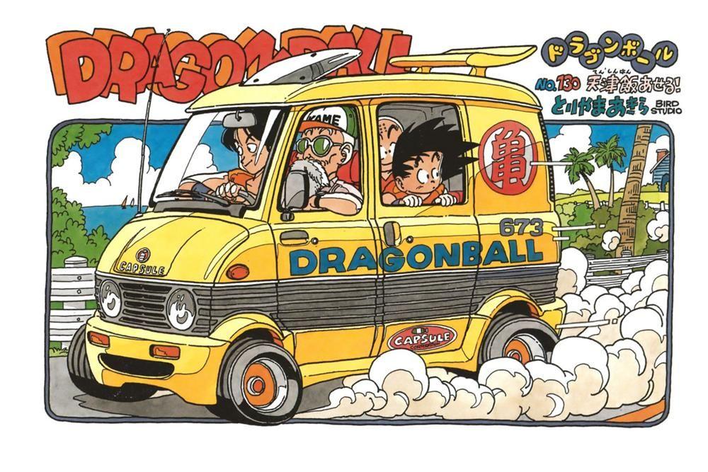 Akira Toriyama The World Dragon Ball Wiki ドラゴンボール