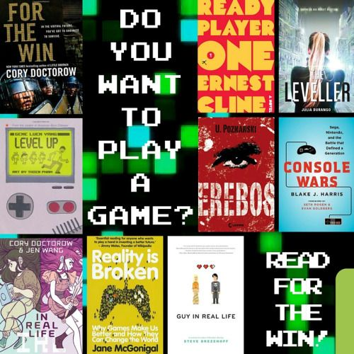 """""""Do You Want to Play a Game?"""" reading list #readforthewin #summerreading"""