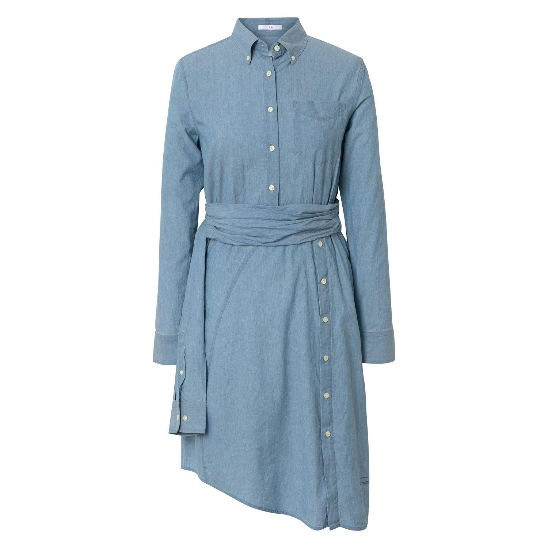 Gant kleid blau