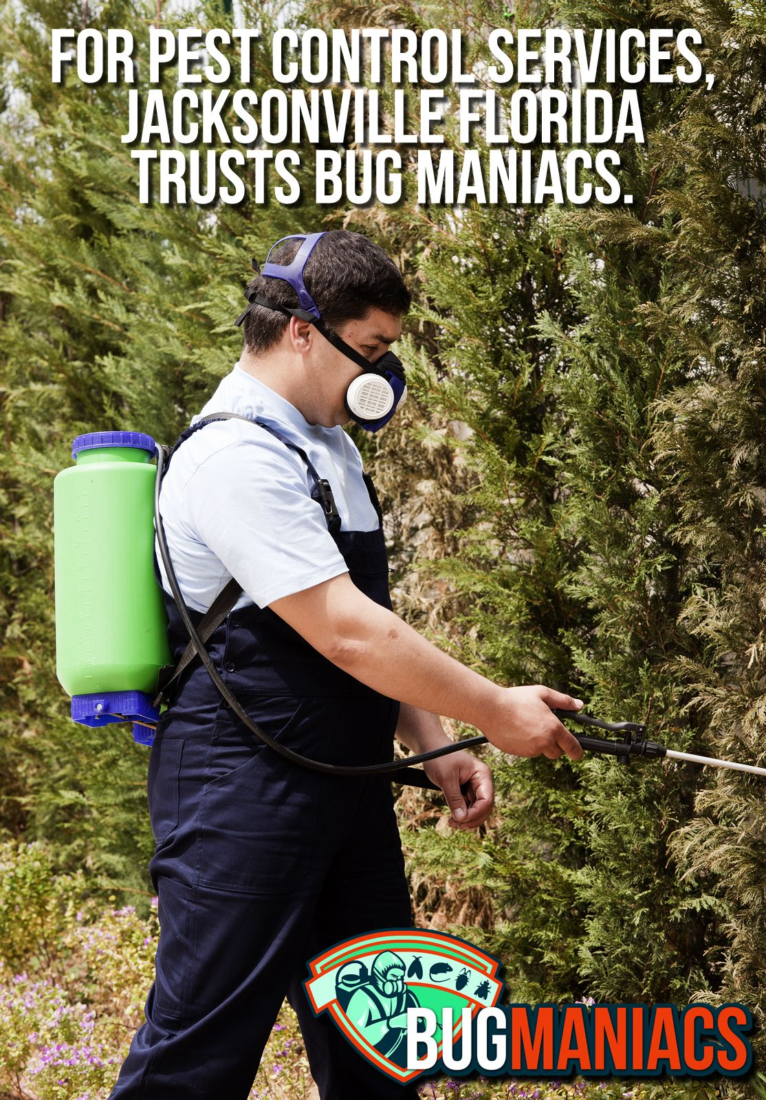 For pest control services jacksonville florida trusts bug