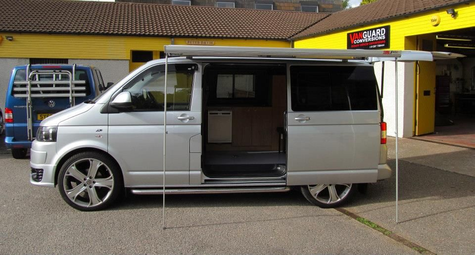 our latest conversion this gorgeous vw t5 now ready for. Black Bedroom Furniture Sets. Home Design Ideas