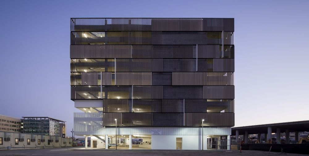 UCSF Mission Bay Medical Center Parking Structure - 2013 AIA San