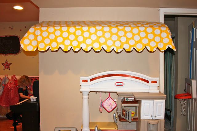 Cardboard Awning Kids Cafe Playroom Preschool Classroom Decor