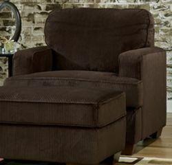 "Amazon.com: Atmore - ""Corduroy"" Chocolate Chair: Home & Kitchen"