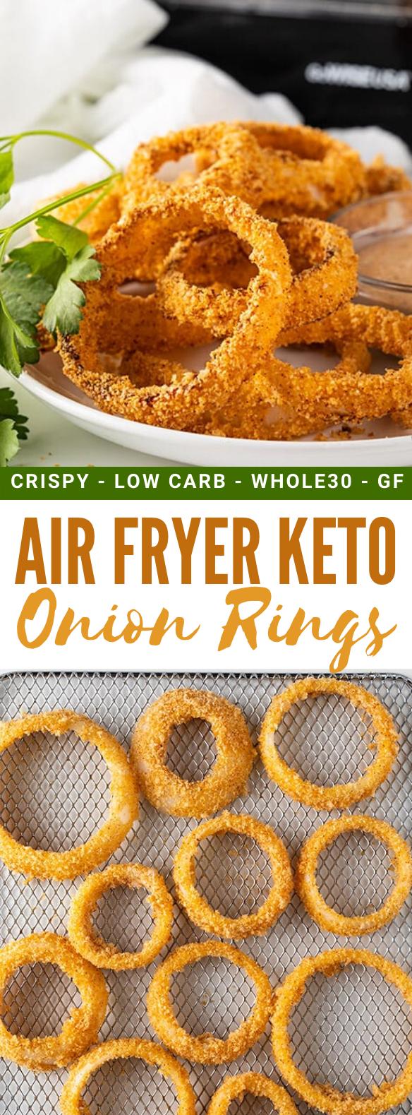 AIR FRYER KETO ONION RINGS RECIPE healthy diet