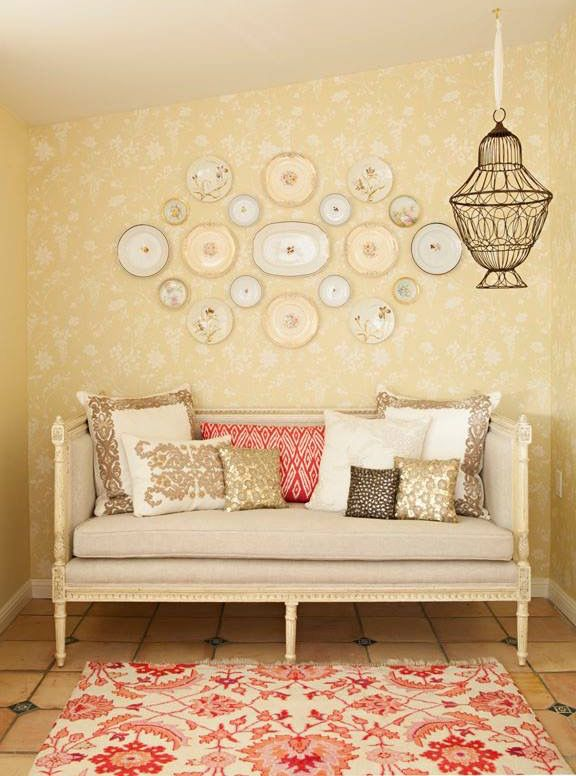 Plate Wall Arrangement | Epiphany Home Accessories: Wall Candy ...