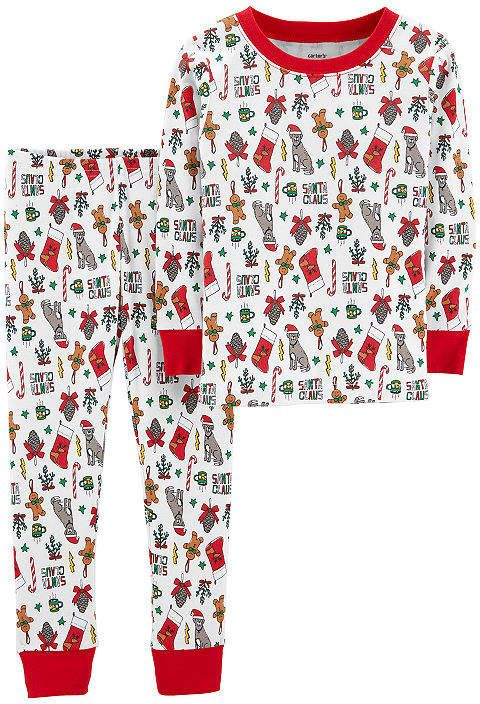 Carter s 2-Pc. Holiday Pjs - Toddler 2-pc. Pant Pajama Set Girls ... be8901fb4