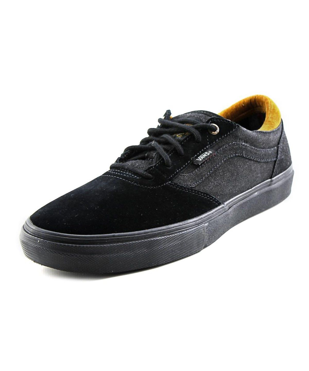 bc7c657adb VANS Vans Gilbert Crockett Pro Men Round Toe Suede Black Skate Shoe .  vans   shoes  sneakers