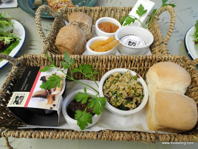 Maggie Beer S Farm Shop Barossa Pheasant Farm Pate Picnic Basket With Caramelized Onions And Freekeh Salad And Seasonal Cooking With Beer Foodie Farm Shop