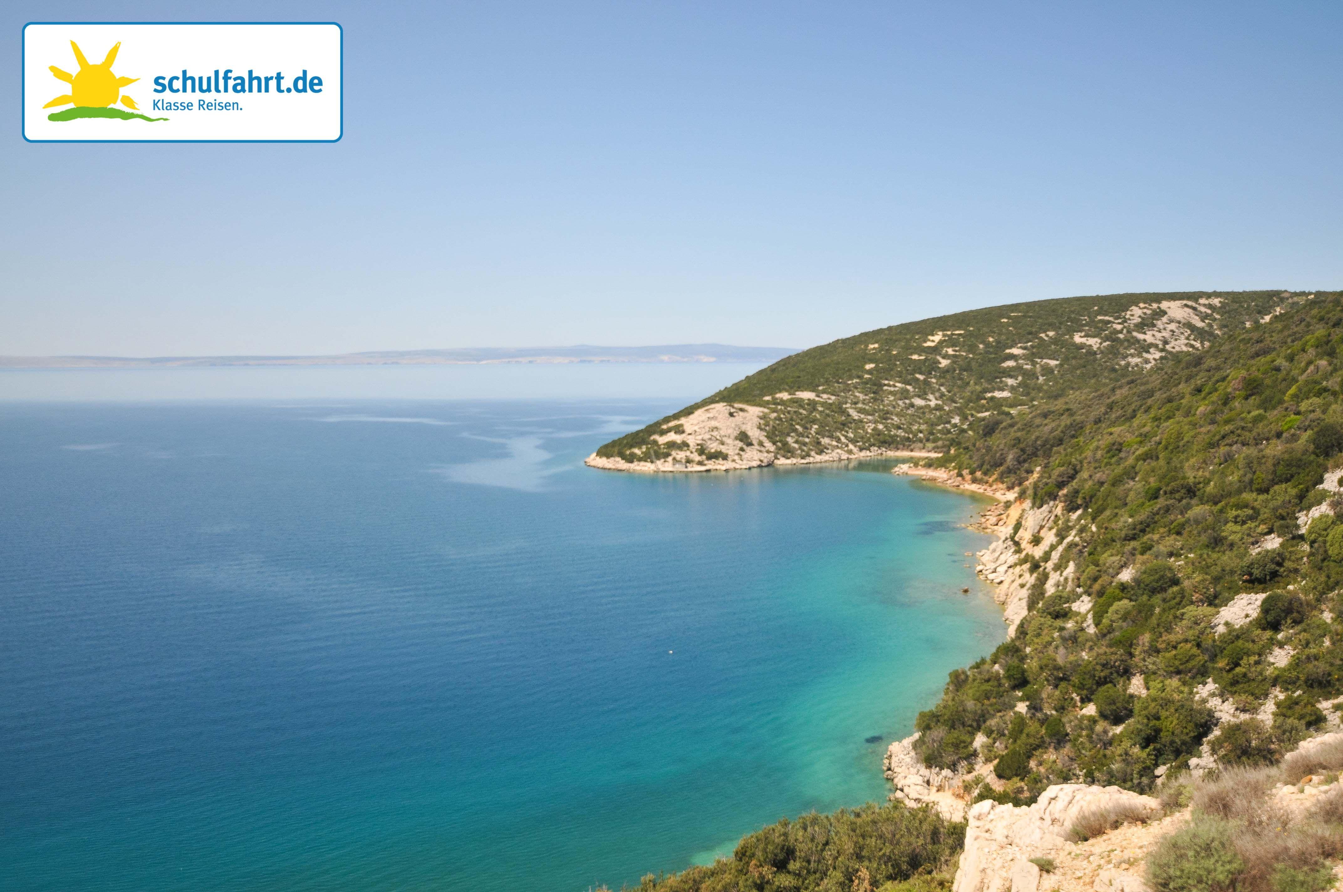 Die Insel Rab in Kroatien. www.schulfahrt.de #Kroatien #Rab