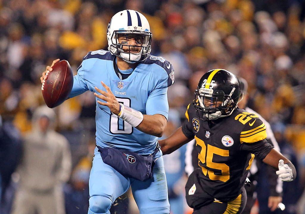 Tennessee Titans last game against Pittsburgh Steelers
