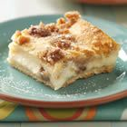 pecan & cinnamon cream cheese bars. just made these, delish!