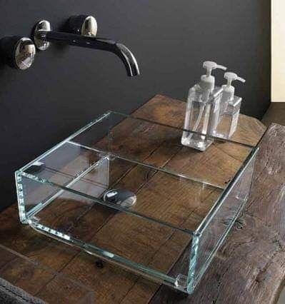 Lavabo In Vetro.Lavabo In Vetro Da Appoggio Glass By Gsg Ceramic Design