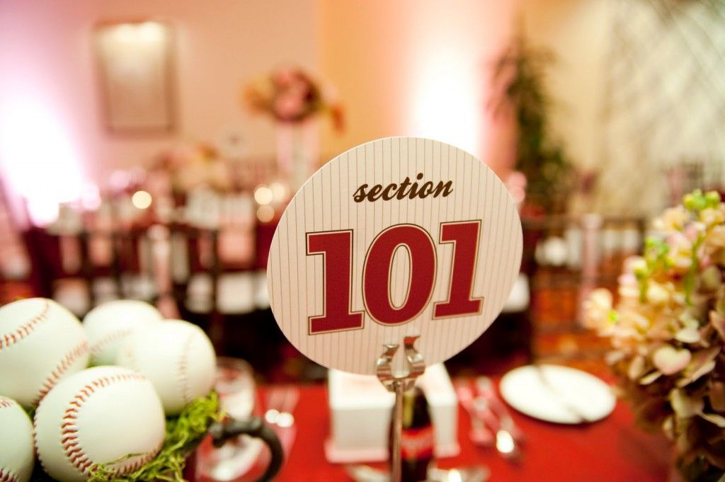Many S Are Opting To Do Have A Baseball Themed Wedding And There Is No Shortage Of Ways Include Details In Your Special Day