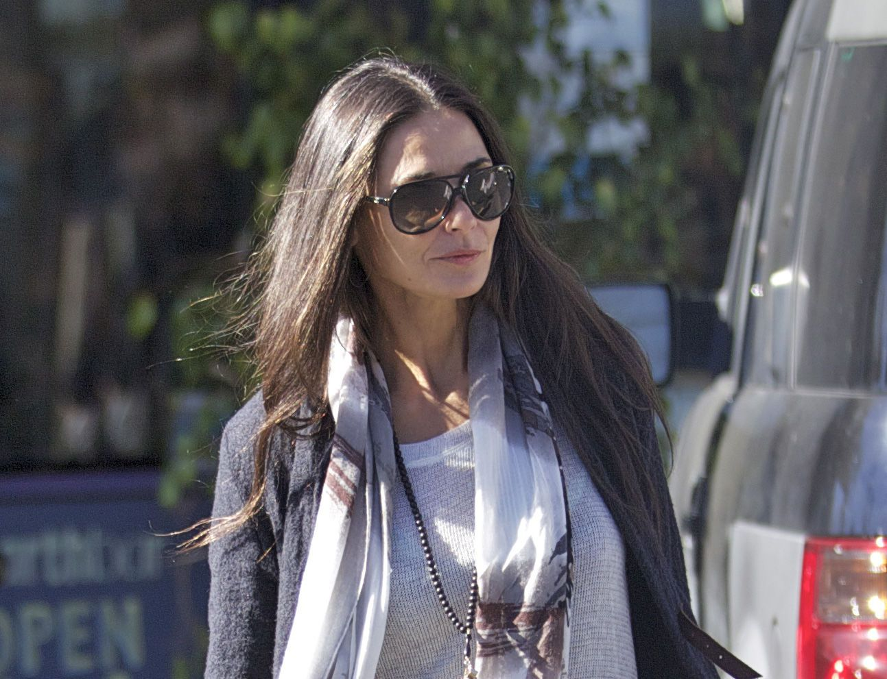 Any given day outfits: Demi Moore, en Los Ángeles