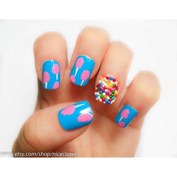 Katy Perry Candy Nails
