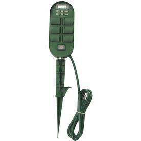 Utilitech 15 amp 6 outlet digital residential plug in countdown utilitech 15 amp 6 outlet digital residential plug in countdown lighting timer christmas aloadofball Images