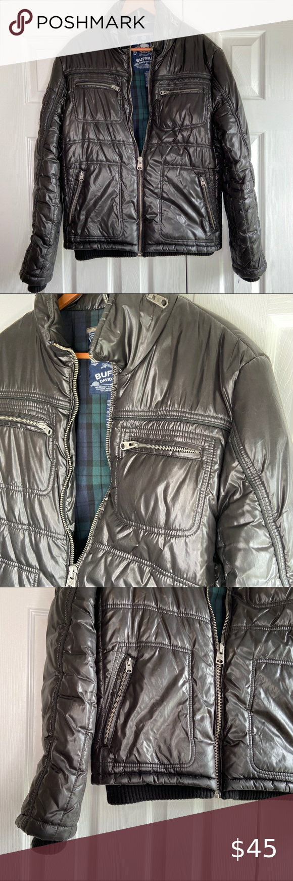 Buffalo David Bitton Black Outerwear Jacket Black Outerwear Outerwear Jackets Jackets [ 1740 x 580 Pixel ]