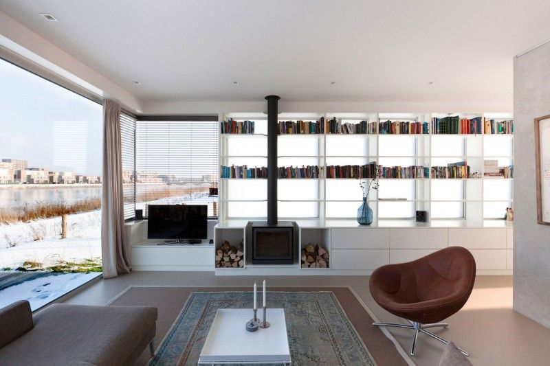 Ijburg villa by marc prosman architecten villas decoration and