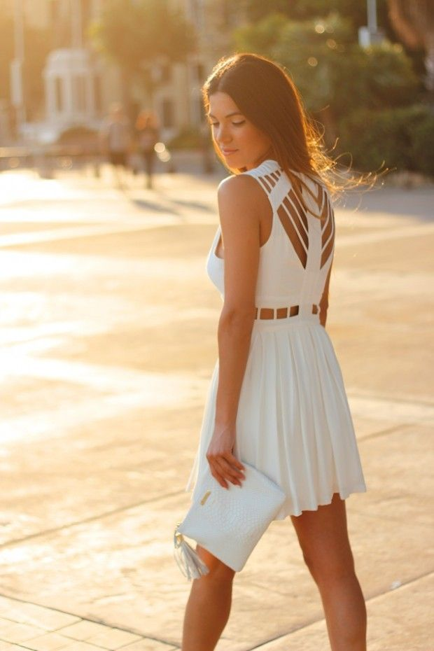 GiGi New York II White in Cannes | Negin Mirsalehi