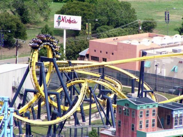 Batman The Ride Photo From Six Flags Over Texas Coasterbuzz Six Flags Over Texas Six Flags Amusement Park Rides