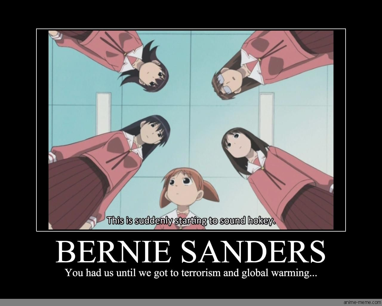 image - Bernie Sanders Fan Art (39545146) - Fanpop  |Anime Betrayal Bernie Sanders