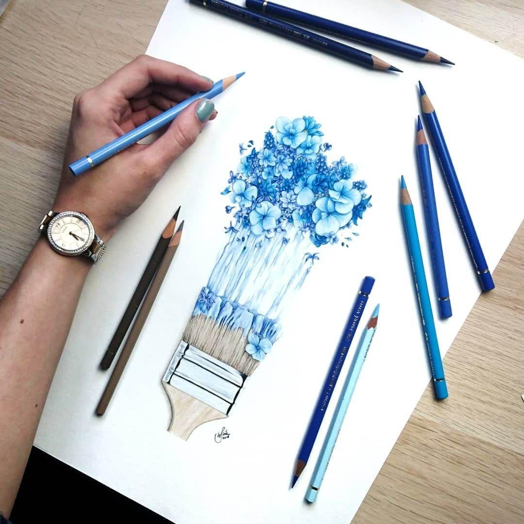 Pencil Drawings.