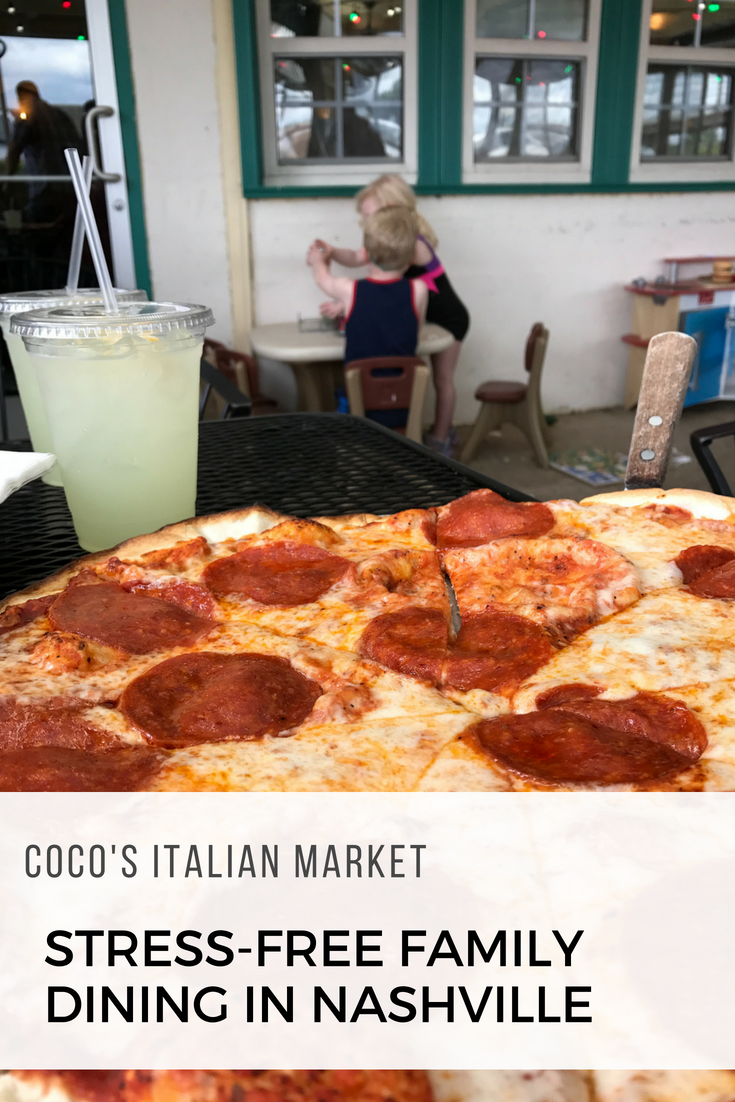 On The Lookout For A Great Nashville Kid Friendly Restaurant Coco S Italian Market Checks All Bo With Amazing Food And Activities Kids