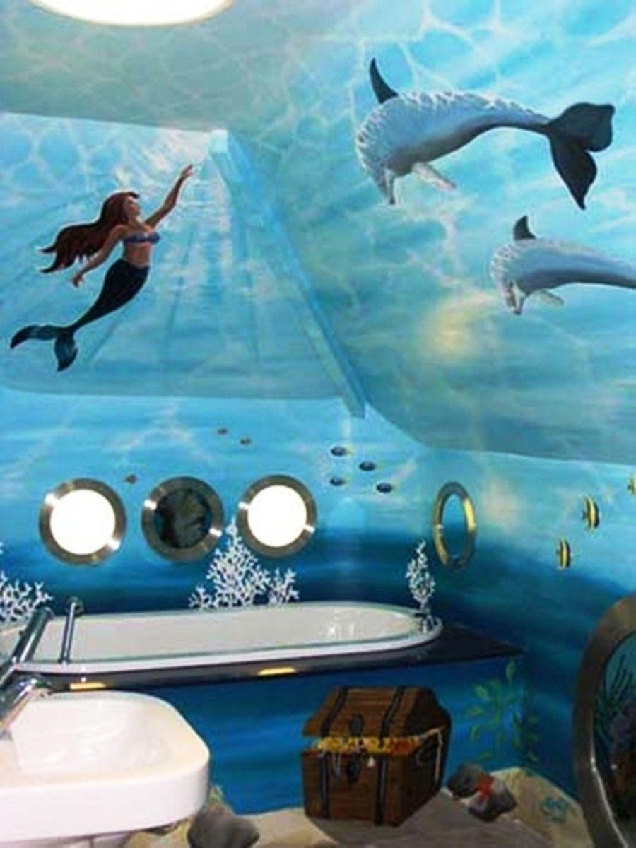 Little Mermaid Bathroom Decoration Ideas Little Mermaid Bathroom