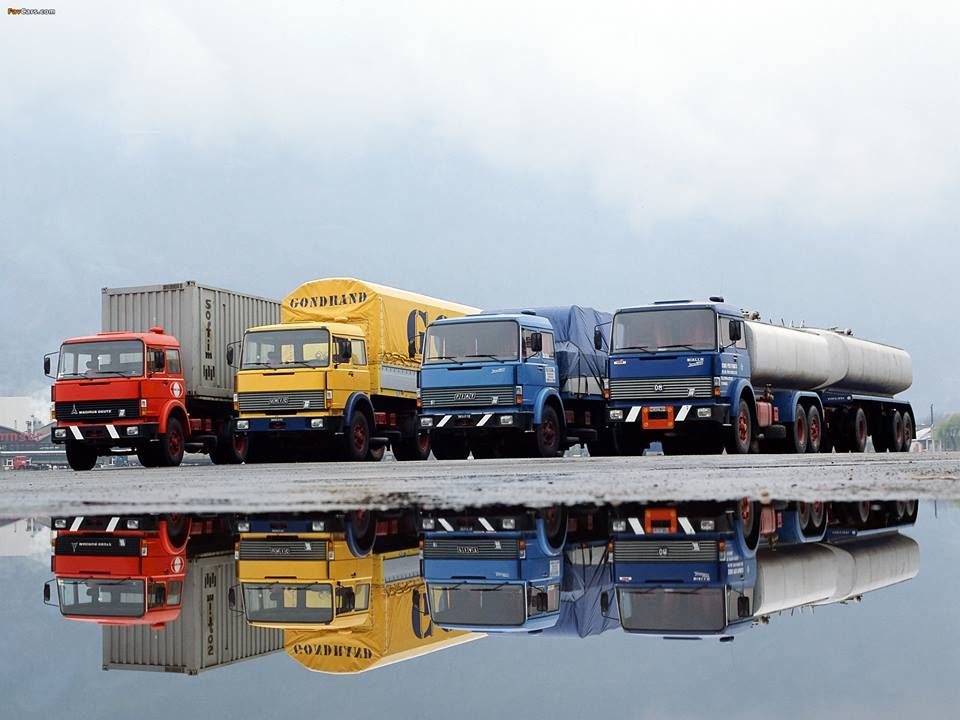 A merge between Magirus-Deutz and FIAT trucks.