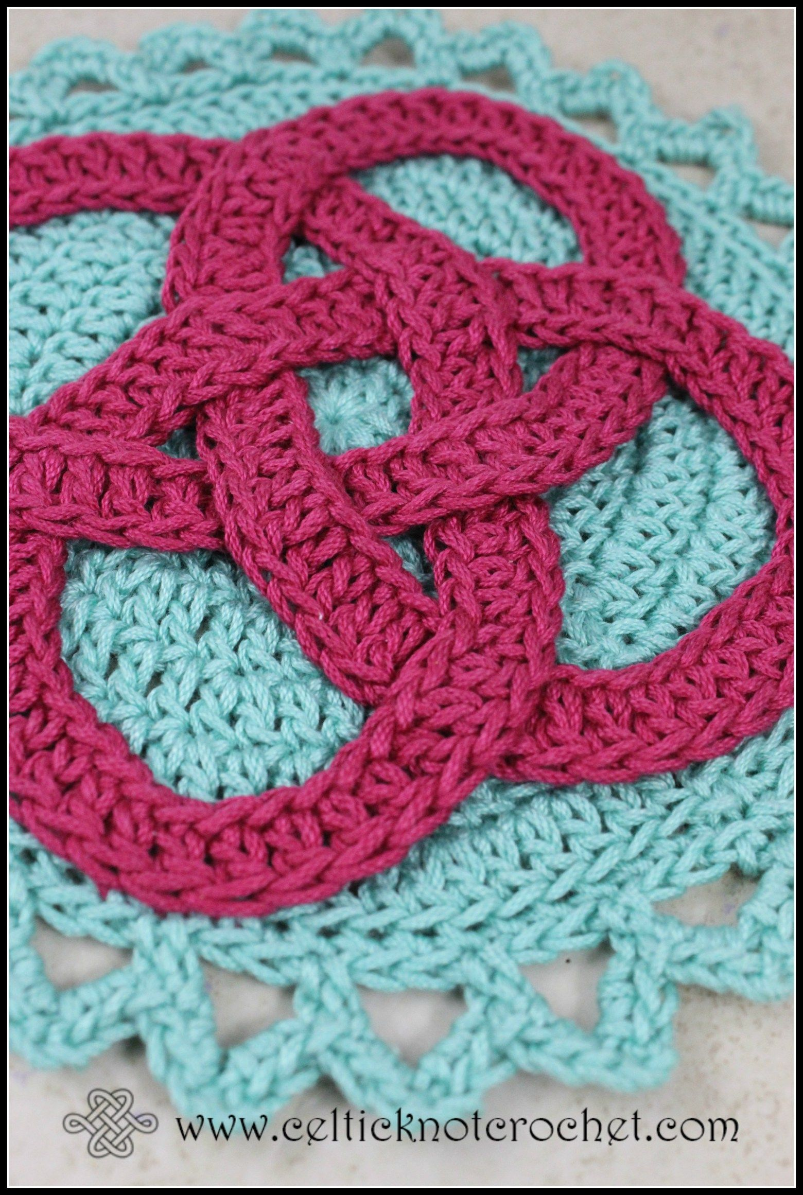 Killarney Hot Pad | Celtic knots and Crochet