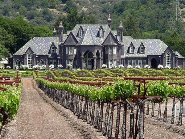 Miss it ~ Ledson Winery in Sonoma Valley ... grandeur & great wines