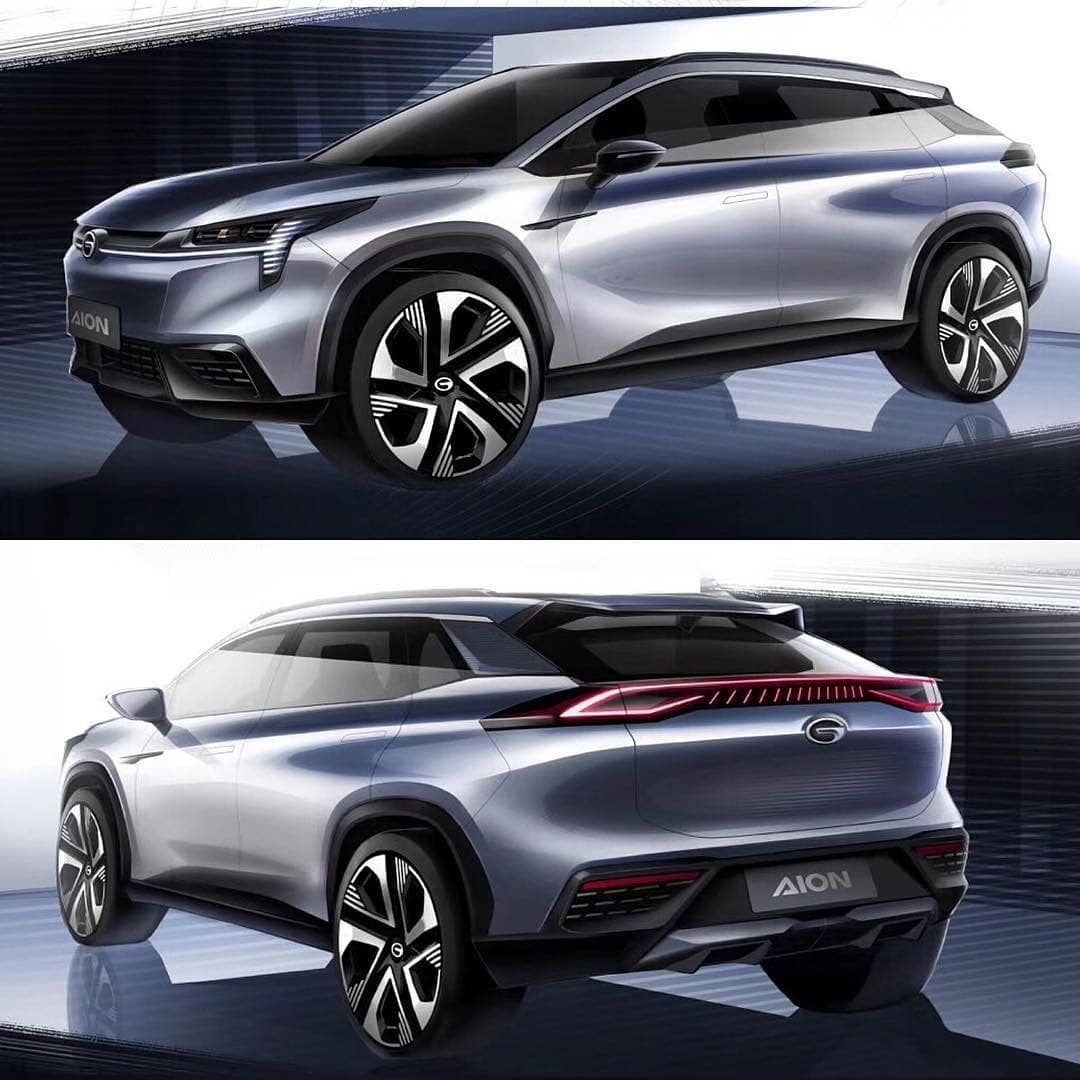 "@carstyle.25's Instagram profile post: ""GAC Aion SUV sketches  ° ° #cardesign #car #design #conceptcar #carsketch #sketch #vehicledesign #cardesigner #transportationdesign…"""