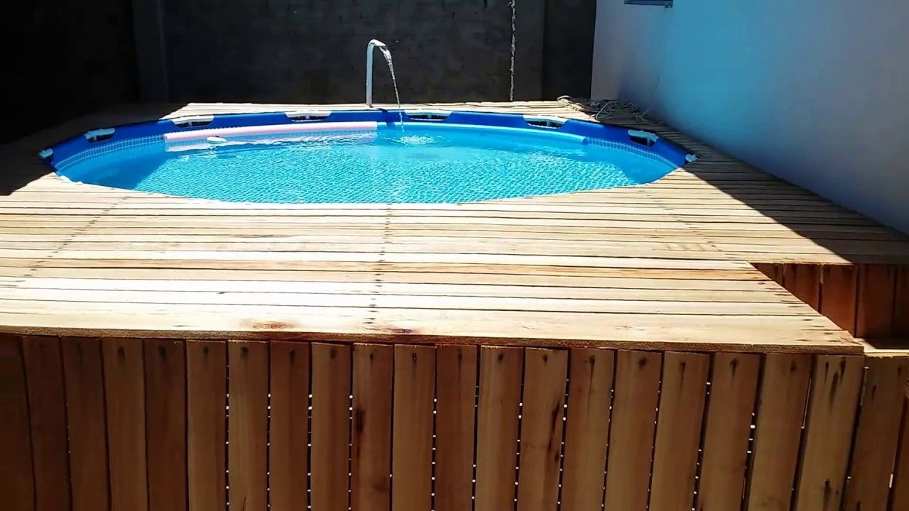 Piscinas Intex Site Piscina Intex 6503 Litros Com Deck Parte 1 Pools Pinterest