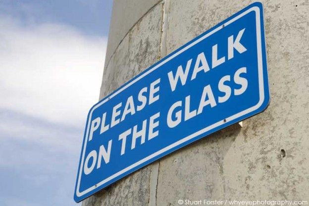 A Sign At The National Glass Centre In Sunderland Photo By Stuart