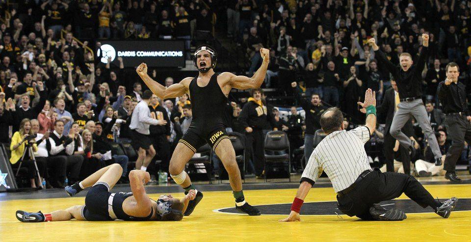 Iowa Hawkeyes Wrestling Taming The Lions 3 Iowa Beats 1 Penn