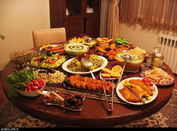 المائدة الايرانية في شهر رمضان المبارك Persian Cuisine Food Persian Food