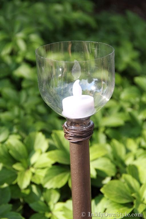 How To Make An Outdoor Walkway Candle Light Outdoor Candle