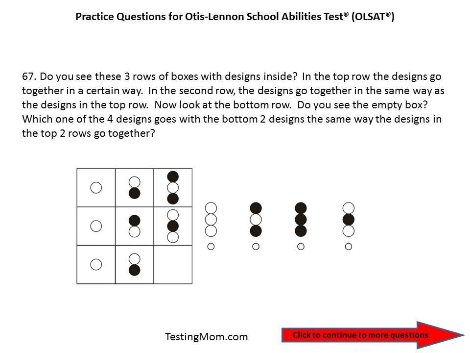 Pin on OLSAT® Test (OtisLennon School Ability Test®) Free