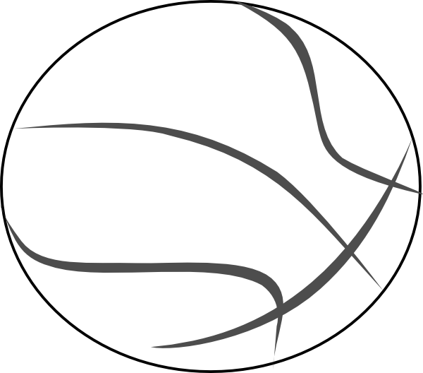 Download vector about basketball outline item 1 , vector